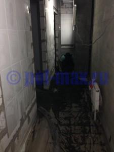 Пример выполнения полусухой стяжки пола в Екатеринбурге