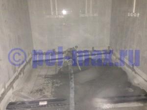 Полусухая бетонная стяжка пола