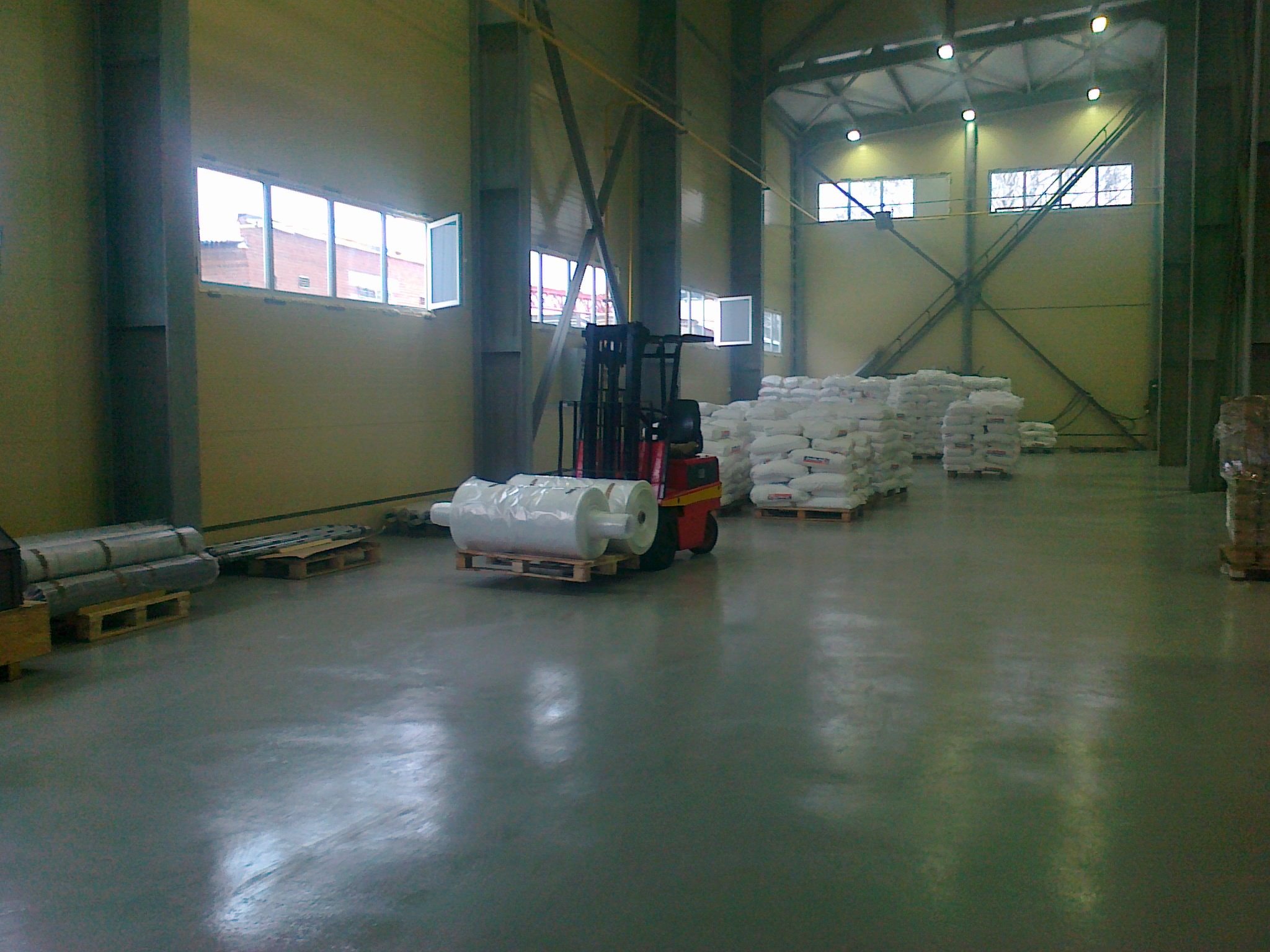 Завод элементов трубопроводов, Цех по производству полиэтиленовой пленки
